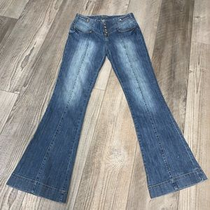 Vintage Z CAVARICCI 80s 90s flare jeans 31